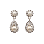 Sofia Pearl Earrings - Creme